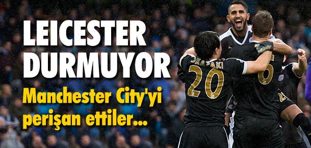 Leicester City durdurulamıyor !
