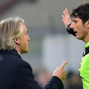 Mancini'den Türk hakem örneği