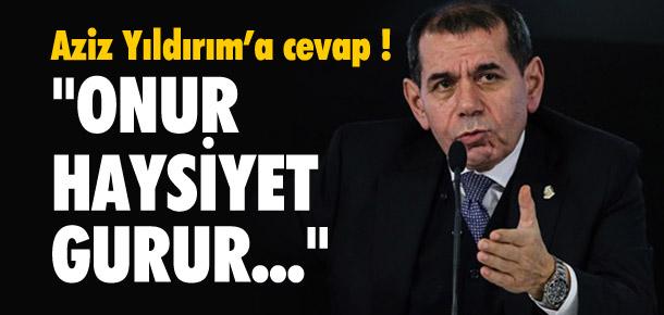 Dursun Özbek'ten Aziz Yıldırım'a cevap