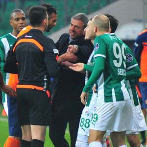 Bursaspor'dan şoke eden hakem tepkisi !