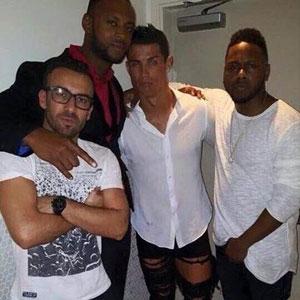 Ronaldo'nun pantolonu olay yarattı !