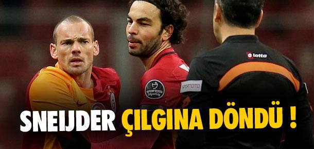 Sneijder çılgına döndü !