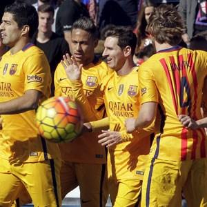 Barcelona'ya iki gol yetti !