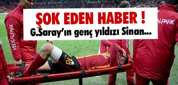 Galatasaray'da Sinan Gümüş şoku !
