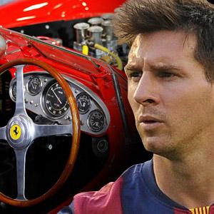 Messi dünyanın en pahalı arabasını aldı