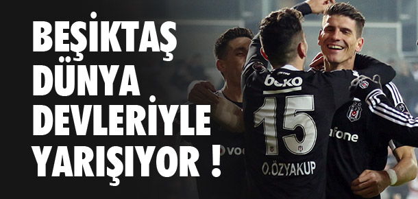 Beşiktaş, Avrupa'nın devleriyle yarışta