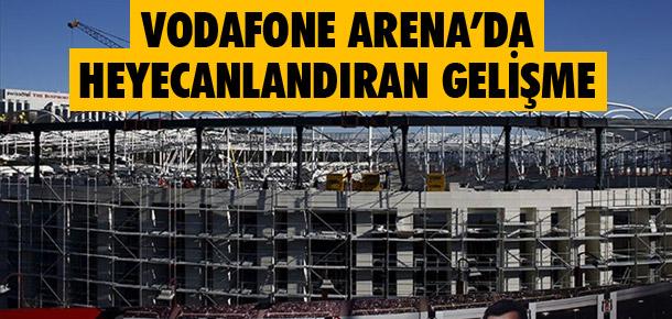 Vodafone Arena'da flaş gelişme