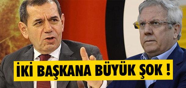 Aziz Yıldırım ve Dursun Özbek'e şok