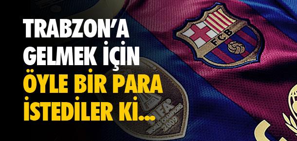 Trabzon'a gelmek için öyle bir para istediler ki...