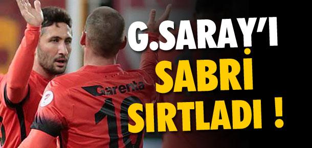 Galatasaray'ı Sabri sırtladı !