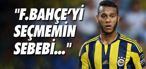 De Souza neden Fenerbahçe'yi seçti ? Açıkladı...