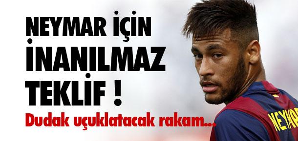 Neymar için dudak uçuklatacak rakam !
