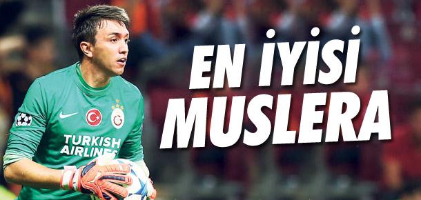 Galatasaray'ın en iyisi Muslera !