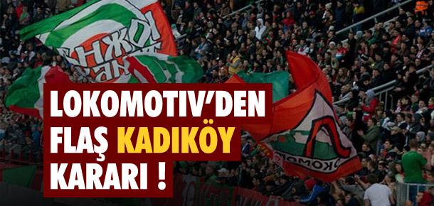 Lokomotiv Moskova'dan flaş karar !