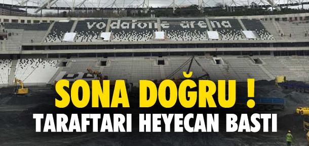Vodafone Arena'da sona doğru !