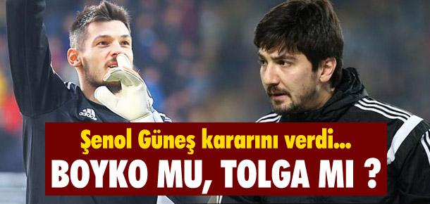 Beşiktaş'ta kale Tolga'nın