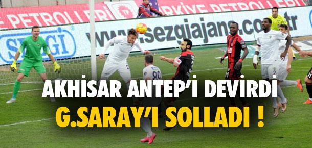 Akhisar Galatasaray'ı solladı !