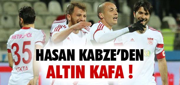 Hasan Kabze'den altın kafa !