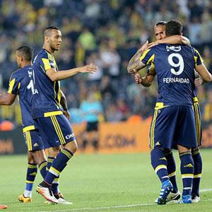 Fenerbahçe gol yağdırdı !