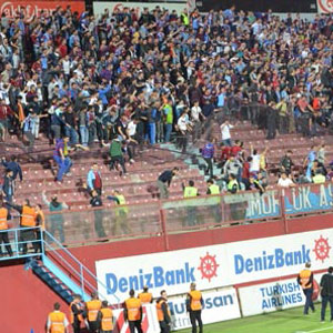 Trabzonspor'u bekleyen tarihi ceza !