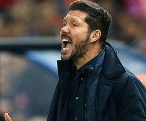 Simeone'ye 3 maç men cezası !