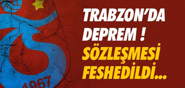 Trabzon'da Erkan Zengin depremi !