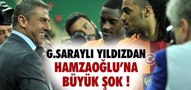 Podolski'den Hamzaoğlu'na şok hareket