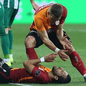 Podolski: ''Duygusal patlamaydı''