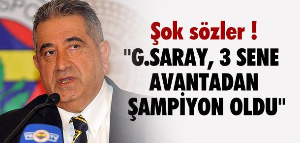 ''Galatasaray 3 sene avantadan şampiyon oldu''