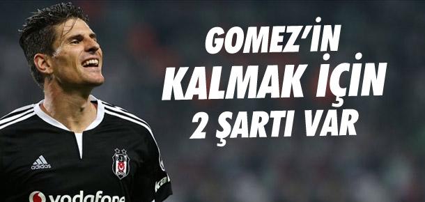 Gomez'in kalmak için 2 şartı var