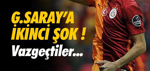 Galatasaray'a ikinci şok !