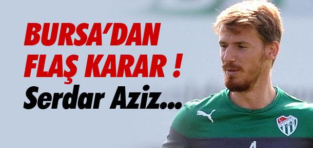 Bursaspor'dan flaş karar !