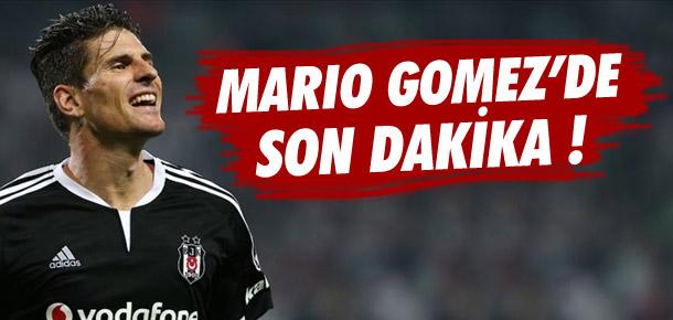 Mario Gomez'de son dakika