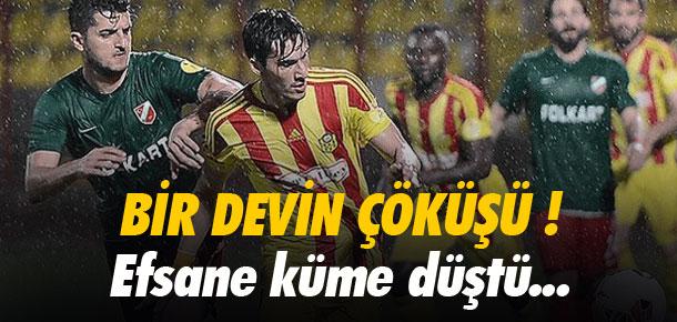 Karşıyaka PTT 1 Lig'e veda etti