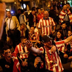 Atletico Madrid'de final sevinci !
