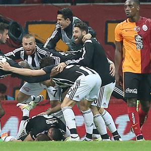 Dev derbide zafer Beşiktaş'ın !