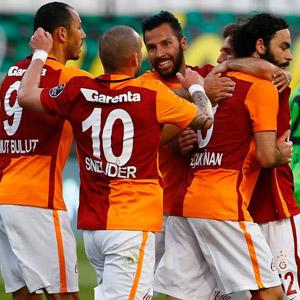 Akhisar Bld - Galatasaray: 1-2
