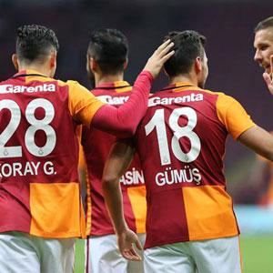 Galatasaray:6 - Kayserispor: 0