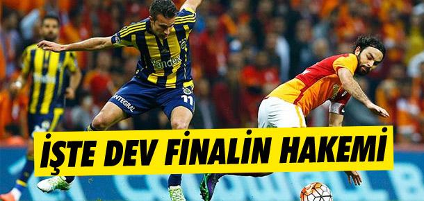 Galatasaray-Fenerbahçe finali Mete Kalkavan'ın