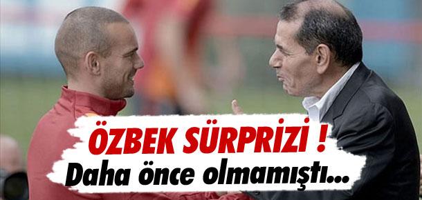 Dursun Özbek sürprizi !