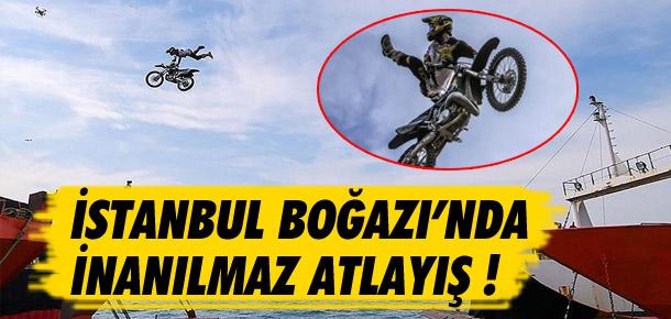 İstanbul Boğazı'nda rekor atlayış