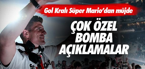 Mario Gomez Beşiktaş için kararını verdi