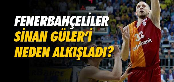 Sinan Güler'i neden alkışladılar !