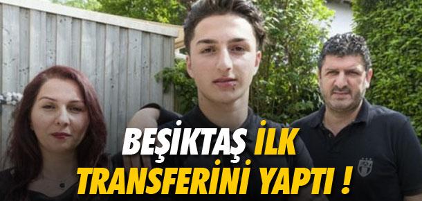 Beşiktaş ilk transferini yaptı !