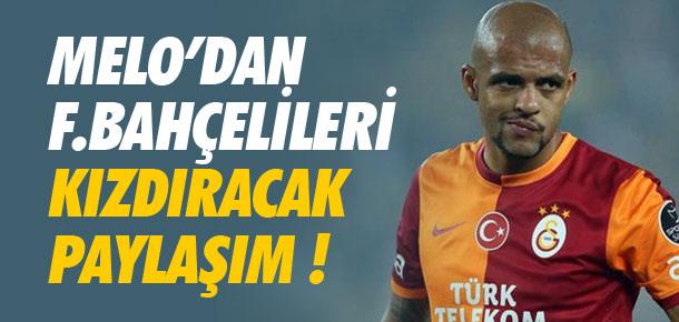 Galatasaray kupayı alınca Melo...