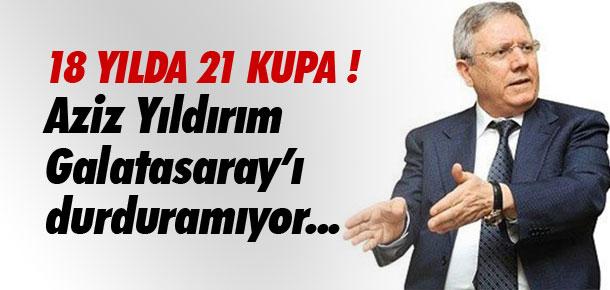 Yıldırım Galatasaray'ı durduramıyor !