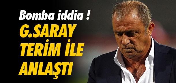 ''Galatasaray Terim ile anlaştı''