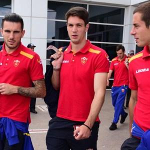 Karadağ milli takımı Antalya'da