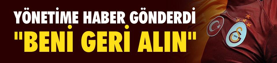 Melo Galatasaray'a dönmek istiyor