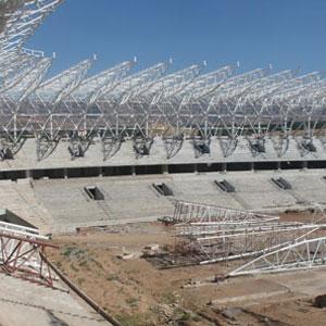 Arena'nın çatısı kapatıldı
